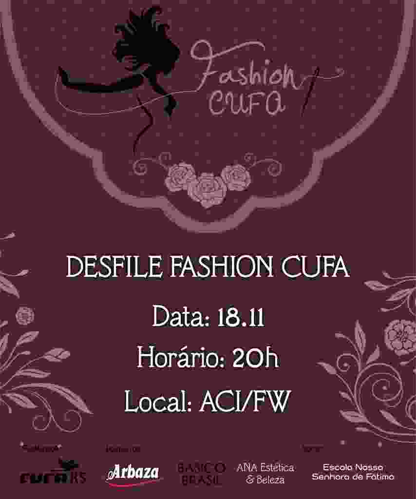 desfile fashion cufa - logo